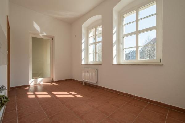Küche Blick zur Balkontür