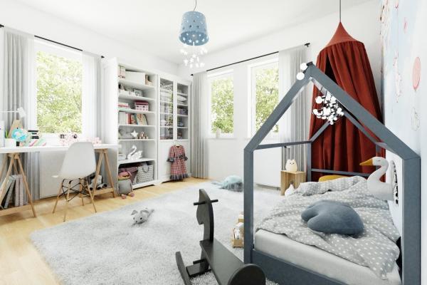 visualisiertes Kinderzimmer