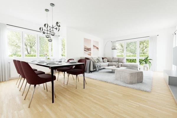 visualisiertes Wohnzimmer